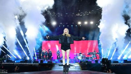 Ellie Goulding. Picture: IAN WEST/PA WIRE