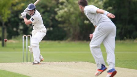 Frinton's Joe Fowler, who struck a superb 194 in an opening partnership of 312 with Alex Price, aga