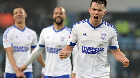 Jonas Knudsen is nicknamed 'Mad Dog' by his Ipswich Town team-mates. Picture: PAGEPIX LTD