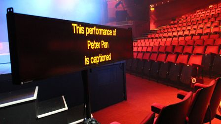The Mercury Theatre are thrilled to have their own captioning unit. Picture: CONTRIBUTED