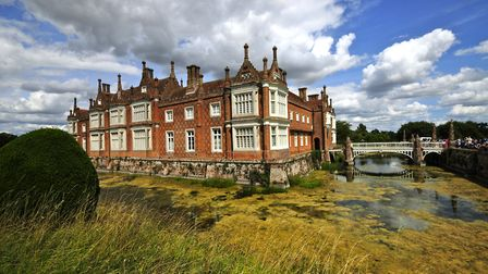 Helmingham Hall, where the Antiques Roadshow will be filming. Picture: MICK HIGHNAM