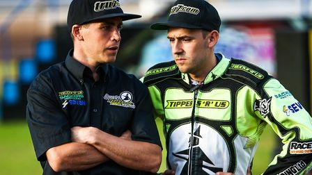 Witches team manager Ritchie Hawkins and skipper Danny King will lead their side against Workington.