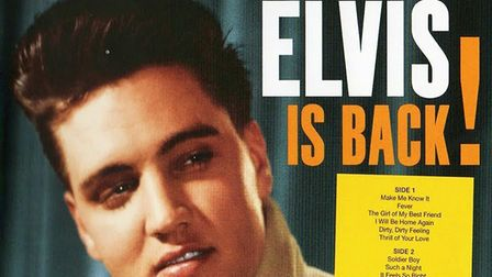 Elvis Is Back. Elvis first album after being discharged from the army. The best Elvis albums. Photo: