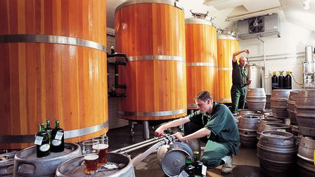 St Peter's Brewery, near Bungay. Picture: ST PETER'S BREWERY