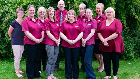 The training team at Christies Care