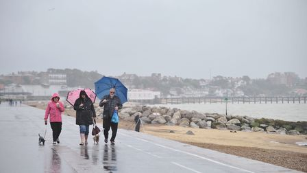 You're likely to need your umbrella this weekend. Picture: SARAH LUCY BROWN