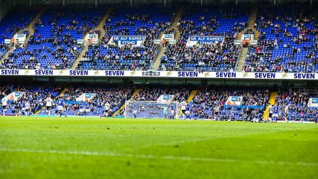 Only 14,164 fans attended the Ipswich Town v Bolton Wanderers match at Portman Road, Ipswich, on 16