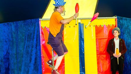 Juglling will be one of the many different acts at Circus Petite. Picture: SIMON BALLARD