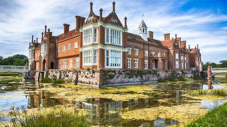 Whether your are a garden fanatic or a novice, you will enjoy the plant show at Helmingham Hall. Pic