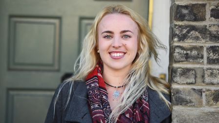 Grace Diggins, who quit her job in May to make a career in the film industry. Picture: GREGG BROWN
