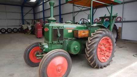 The Gary Cooper Collection includes four Field Marshall tractors dating from the 1940s and 1950s. Pi
