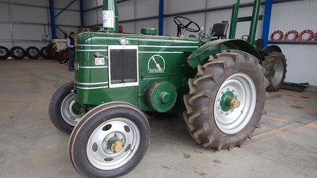 The Gary Cooper Collection includes four Field Marshall tractors dating from the 1940s and 1950s, su