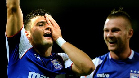 Aaron Cresswell scores for Town against Yeovil