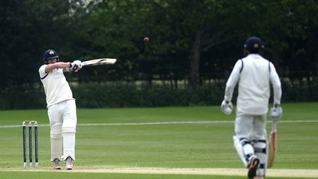 Jaik Mickleburgh, who top-scored with 63 in Copdock's defeat at Swardeston on Saturday. Picture: SAR
