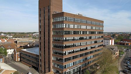 The St Vincent House office block in Cutler Street, Ipswich has been sold.