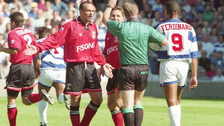 England international Les Ferdinand grabbed a late consolation for the west London club, but the poi