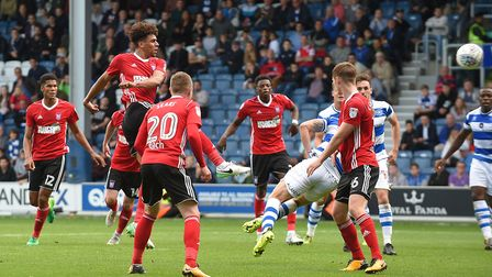 Tom Adeyemi also has a late chance at QPR Picture Pagepix