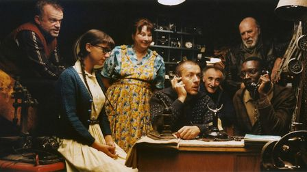 Plotting their revenge in Micmacs, a surreal comedy in which a group of misfits use recycling to eng