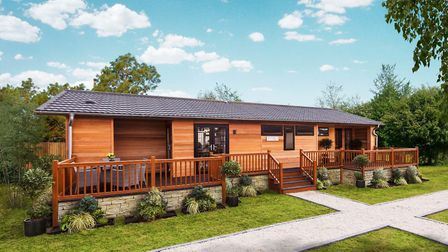A multi-million pound investment in luxury lodge park is under way at Puddledock Farm.