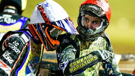Witches guest Mason Campton and Edinburgh's Sam Masters will be facing each other tonight again. Pho