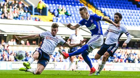 Bersant Celina is pushing for his first Championship start for Ipswich Town after some impressive su