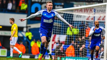 Freddie Sears gave Town an early lead the last time Ipswich Town faced Leeds United. Photo: Steve Wa