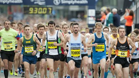 Promotional photograph for the Great East Run 2017, Picture: PETER LANGDOWN