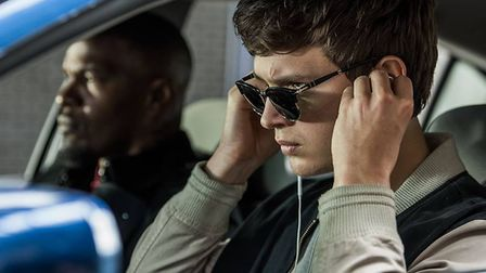 Baby Driver. Pictures: SONY PICTURES