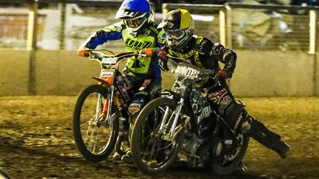 Action from Foxhall Stadium, where Ipswich Witches are set to host Edinburgh Monarchs on Thursday