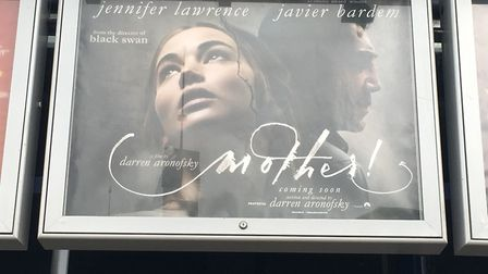 Film poster for Mother! Picture: MEGAN ALDOUS