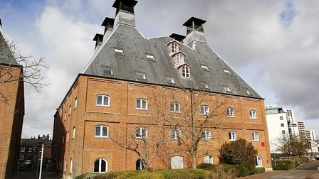 Felaw Maltings in Ipswich, the home of several successful business which also includes the offices o