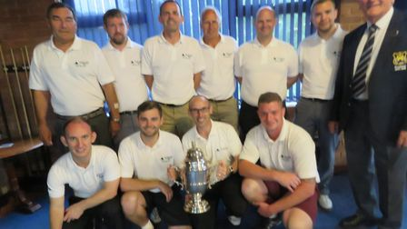 Ufford Park's Tolly winning squad. Picture: CONTRIBUTED