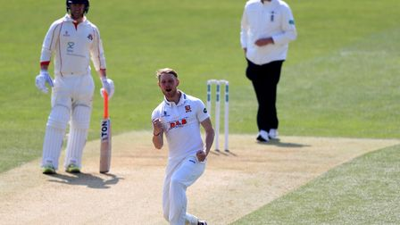 Essex's Jamie Porter claimed four wickets on day one at Warwickshire. Picture: PA SPORT