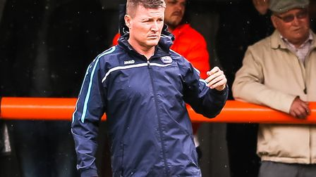 Braintree Town manager Brad Quinton. Picture: STEVE WALLER