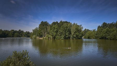 This will be the view from the new waterside lodges at Center Parcs Elveden Forest, which are due fo