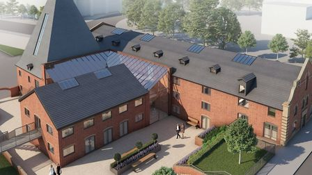 This is how The Maltings could look after the redevelopment. Picture: PERTWEE ESTATES