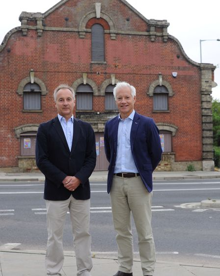 Julian and Mark Pertwee, new owners of the former Hollywood's club in Ipswich. Picture: SARAH LUCY