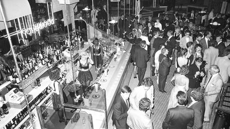 Hollywoods during its official opening night in 1988