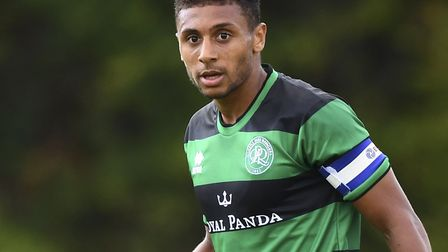 Brandon Comley, who signed for the U's on loan from QPR on transfer deadline day
