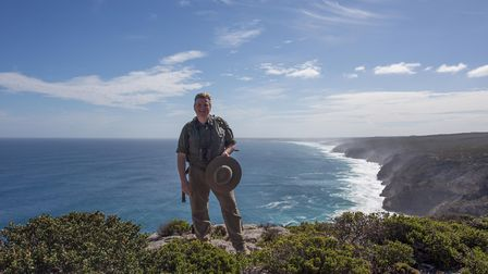 The survivalist, bushcraft expert, author and photographer says the challenge for everybody working