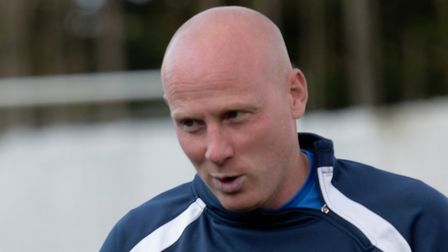 Ipswich Wanderers's manager Mark Goldfinch