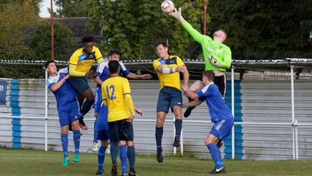 Wanderers' Jack Spurling gets his fingertips to a cross