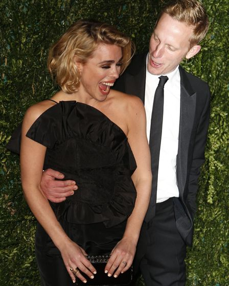Laurence Fox and his ex-wife Billie Piper, with whom he has two sons. Photo: Jonathan Brady/PA Wire
