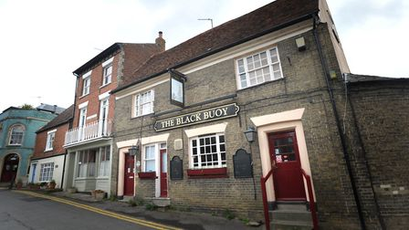 The Black Buoy pub in Wivenhoe is holding an ale and cider festival this weekend. Picture: SARAH LUC