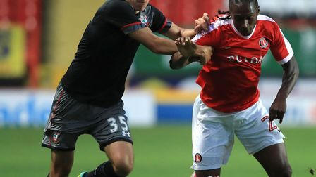 U's new recruit Brandon Hanlan, in action for Charlton Athletic. He has signed on loan until the mid