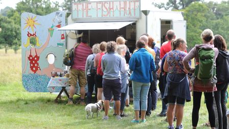 Walk with a Fork event at Helmingham Hall. Picture: SARAH LUCY BROWN