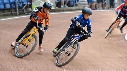 Kesgrave's Noah Woodhouse, shows his style on his way to a runner-up place in the British U-12 final