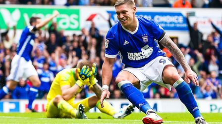Martyn Waghorn has scored four goals in his first three league outings for Ipswich Town. Picture: St