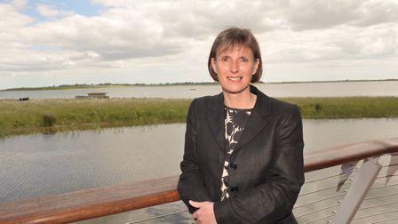 Heidi Mottram, chief executive officer at Suffolk and Essex water.