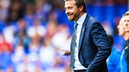 Fulham manager Slavisa Jokanovic pictured during the Ipswich Town v Fulham (Sky Bet Championship) ma